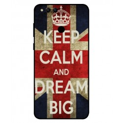 Huawei Honor 7X Keep Calm And Dream Big Cover