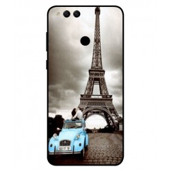 Huawei Honor 7X Vintage Eiffel Tower Case