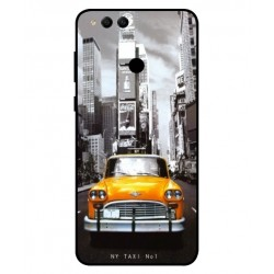Coque New York Taxi Pour Huawei Honor 7X