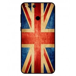 Coque Vintage UK Pour Huawei Honor 7X