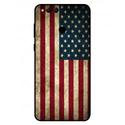 Coque Vintage America Pour Huawei Honor 7X