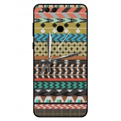 Coque Broderie Mexicaine Avec Horloge Pour Huawei Honor 7X