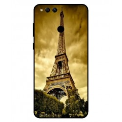 Coque Protection Tour Eiffel Pour Huawei Honor 7X