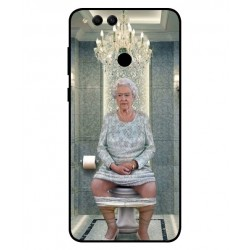 Huawei Honor 7X Her Majesty Queen Elizabeth On The Toilet Cover