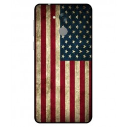 Coque Vintage America Pour Huawei Honor 6C Pro