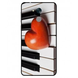 Coque I Love Piano pour Huawei Honor 6C Pro
