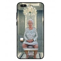 Asus Zenfone 4 Pro ZS551KL Her Majesty Queen Elizabeth On The Toilet Cover