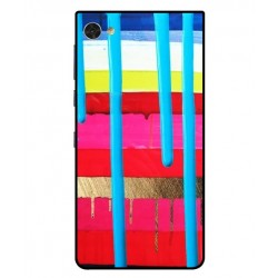 Blackberry Motion Brushstrokes Cover