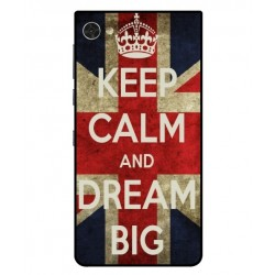 Carcasa Keep Calm And Dream Big Para Blackberry Motion