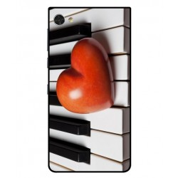 Funda I Love Piano Para Blackberry Motion