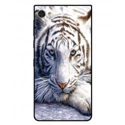 Funda Protectora 'White Tiger' Para Blackberry Motion