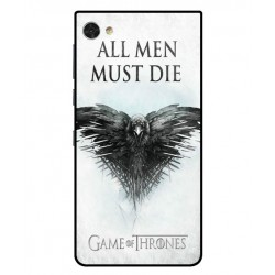 Funda All Men Must Die Para Blackberry Motion