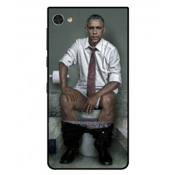 Blackberry Motion Obama On The Toilet Cover