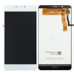 White Wiko Tommy 2 Plus Complete Replacement Screen