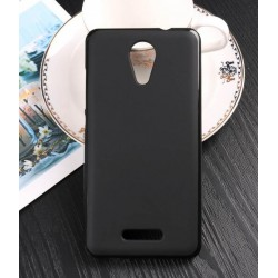 Black Silicone Protective Case Wiko Tommy 2 Plus