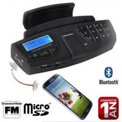 Steering Wheel Mount A2DP Bluetooth for Wiko View Prime