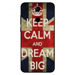 Keep Calm And Dream Big Hülle Für Cubot Note Plus
