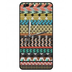 Leagoo T5 Mexican Embroidery With Clock Cover