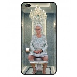 Leagoo T5 Her Majesty Queen Elizabeth On The Toilet Cover