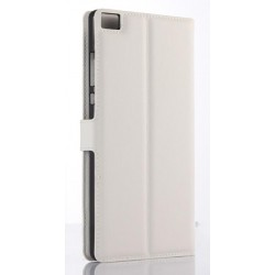 Huawei P8 Max White Wallet Case