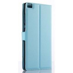 Huawei P8 Max Blue Wallet Case