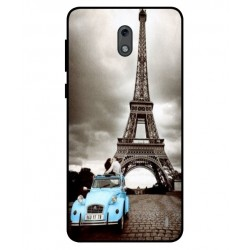 Nokia 2 Vintage Eiffel Tower Case