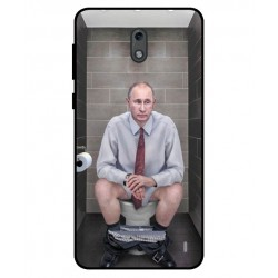 Nokia 2 Vladimir Putin On The Toilet Cover
