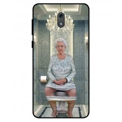 Nokia 2 Her Majesty Queen Elizabeth On The Toilet Cover