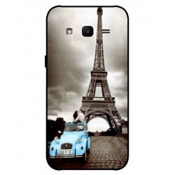 Samsung Galaxy J2 2017 Vintage Eiffel Tower Case