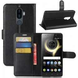 Lenovo K8 Note Black Wallet Case