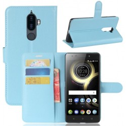 Lenovo K8 Note Blue Wallet Case