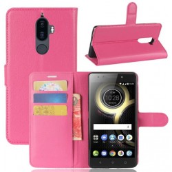 Lenovo K8 Note Pink Wallet Case