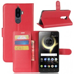 Lenovo K8 Note Red Wallet Case