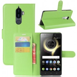 Lenovo K8 Note Green Wallet Case