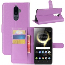 Lenovo K8 Note Purple Wallet Case
