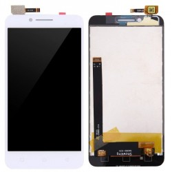 White Lenovo Vibe C Complete Replacement Screen