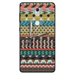 Nokia 7 Mexican Embroidery With Clock Cover