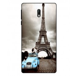 Nokia 3 Vintage Eiffel Tower Case
