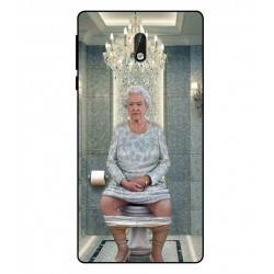 Nokia 3 Her Majesty Queen Elizabeth On The Toilet Cover