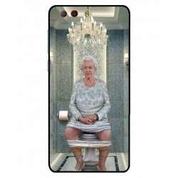 ZTE Nubia Z17 Mini S Her Majesty Queen Elizabeth On The Toilet Cover