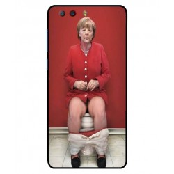 ZTE Nubia Z17 Mini S Angela Merkel On The Toilet Cover
