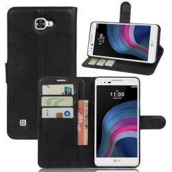 LG X5 Black Wallet Case