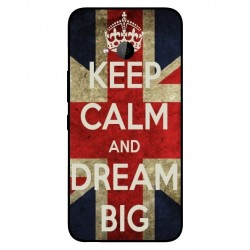 HTC U11 Life Keep Calm And Dream Big Cover