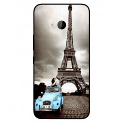 HTC U11 Life Vintage Eiffel Tower Case