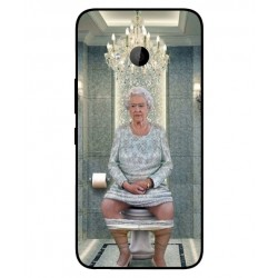 HTC U11 Life Her Majesty Queen Elizabeth On The Toilet Cover