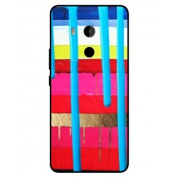 HTC U11 Plus Brushstrokes Cover