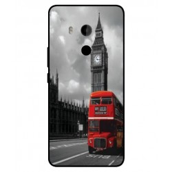 Carcasa London Style Para HTC U11 Plus