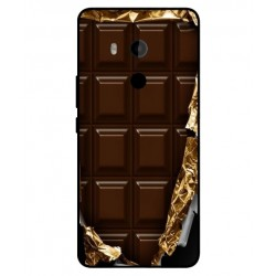 Funda Protectora 'I Love Chocolate' Para HTC U11 Plus