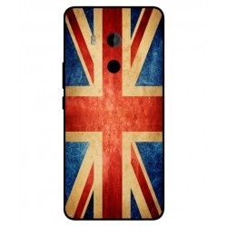 Funda Vintage UK Para HTC U11 Plus