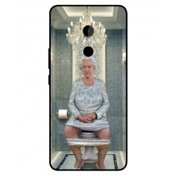 HTC U11 Plus Her Majesty Queen Elizabeth On The Toilet Cover